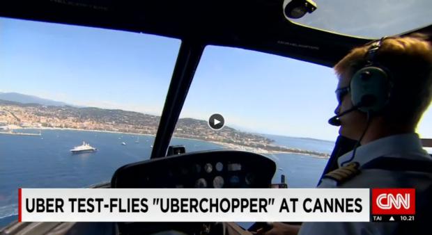 Uberchopper CNN video still